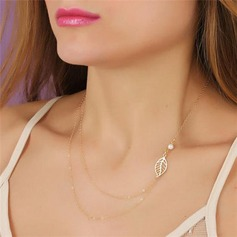 Exquisite Alloy Ladies' Necklaces