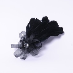 Elegant Rhinestone/Feather Fascinators