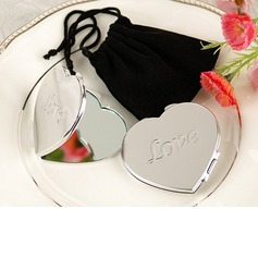 Heart Shaped Zinc Alloy Compacts (051025000)