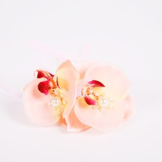 Romantic/Cute PE/Imitation Pearl Wrist Corsage -