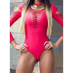 Fashional Solid Color One-piece (202082460)