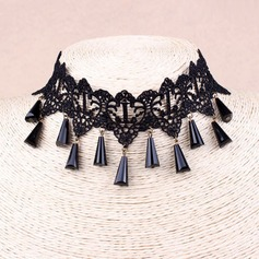 Sexy Alloy Lace With Lace Ladies' Fashion Necklace
