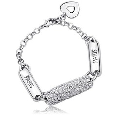 Classic Alloy/Platinum Plated Women's/Ladies' Bracelets