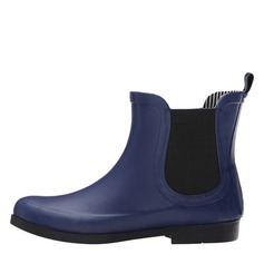 Women's Rubber Low Heel Boots Ankle Boots shoes