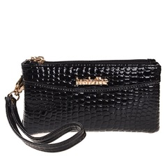 Girly PU With Metal Clutches