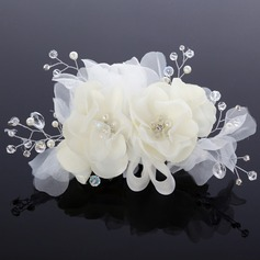Glamourous Artificial Silk/Chiffon Flowers & Feathers