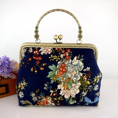 Charming Metal/Cloth Clutches/Bridal Purse