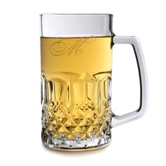 Personalized Attractive Glass Beer Mug