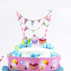 Ice cream Shaped Paper Cake Topper