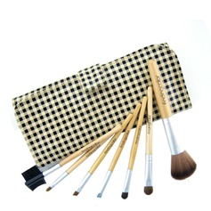Travel size-Case grain Makeup Brush Set (7Pcs)