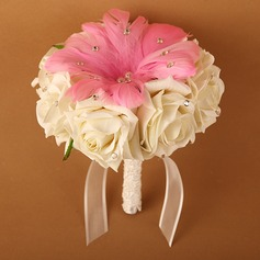 Nice Round Cloth Bridal Bouquets/Bridesmaid Bouquets