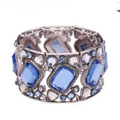 Fashional Acrylic Zinc Alloy Glass With Acrylic Ladies' Fashion Bracelets