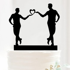 Same Sex Acrylic Wedding Cake Topper