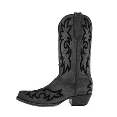 Women's Leatherette Low Heel Pumps Closed Toe Boots Mid-Calf Boots shoes