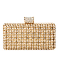 Classical Rhinestone Clutches