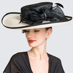 Ladies' Elegant Spring/Summer Cambric With Bowler/Cloche Hat