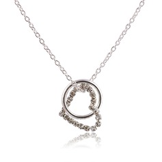 Heart Shaped Alloy Ladies' Necklaces