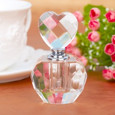 Heart Shaped Crystal Perfume Bottle