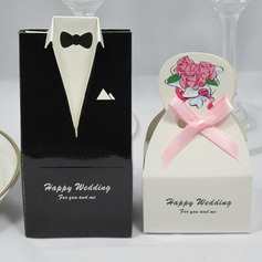Tuxedo & Gown Favor Box (Set of 12) (050026291)