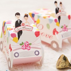 """Speeding To Happiness"" Favor Boxes (Set of 12)"