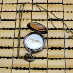 Mustache Design Zinc Alloy Pocket Watch