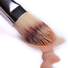 Artificial Fibre Baking Varnish Wooden Handle Foundation Brush