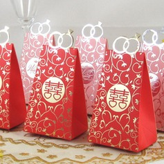 Double Happiness Favor Boxes (Set of 12)