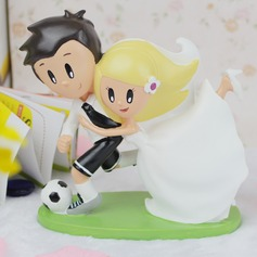 Non-personalized Cute Couple Resin Creative Gifts