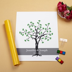 """Our Wedding Tree"" Fingerprint Signature Canvas (101061279)"