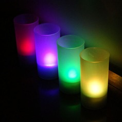Color changing Glittering LED Lights Candle