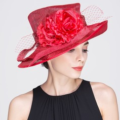 Ladies' Beautiful Spring/Summer/Autumn Cambric With Bowler/Cloche Hat