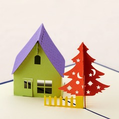 Three-dimensional Country Living Greeting Cards