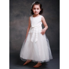 Tulle/Satin/Lace With Bow