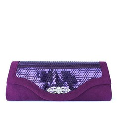 Fashional Silk With Sequin/Rhinestone Clutches