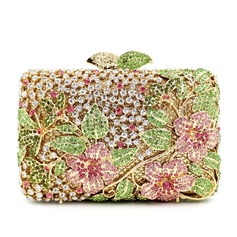 Shining Rhinestone/Silver Plated Clutches/Luxury Clutches