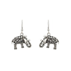 Holy Elephant Metal Women's Fashion Earrings