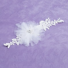 Pearl/Lace/Tulle Headbands