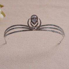 Classic/Simple Rhinestone/Alloy/Zircon Tiaras