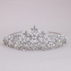 Elegant Alloy/Imitation Pearls Tiaras