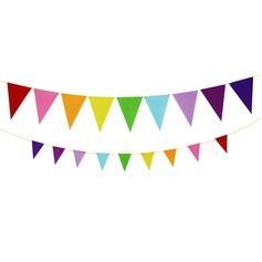 Colorful Fabric Banner