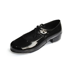 Women's Kids' Patent Leather Flats Tap Ballroom Dance Shoes