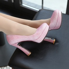 Women's Leatherette Stiletto Heel Pumps shoes (085102248)