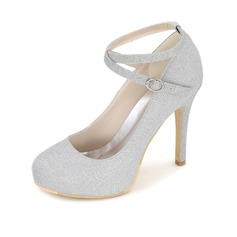 Women's Fabric Stiletto Heel Pumps