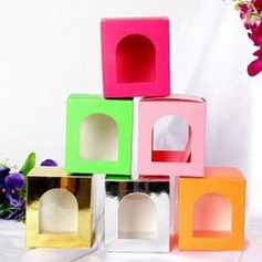 Favor Box With Window (Set of 12) (050025896)