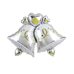 Double Bells Aluminium Foil Balloon