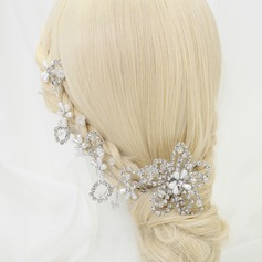 Rhinestone/Imitation Pearls Hairpins/Headbands