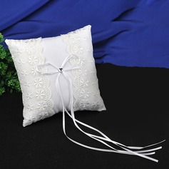 Lovely Ring Pillow in Satin/Cotton With Ribbons/Lace