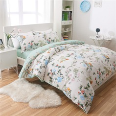 Country Modern/Contemporary Cotton Comforters (4pcs :1 Duvet Cover 1 Flat Sheet 2 Shams) (203082543)