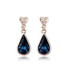 Pretty Alloy Ladies' Earrings