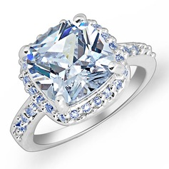 Gorgeous Zircon/Platinum Plated Women's/Ladies' Rings